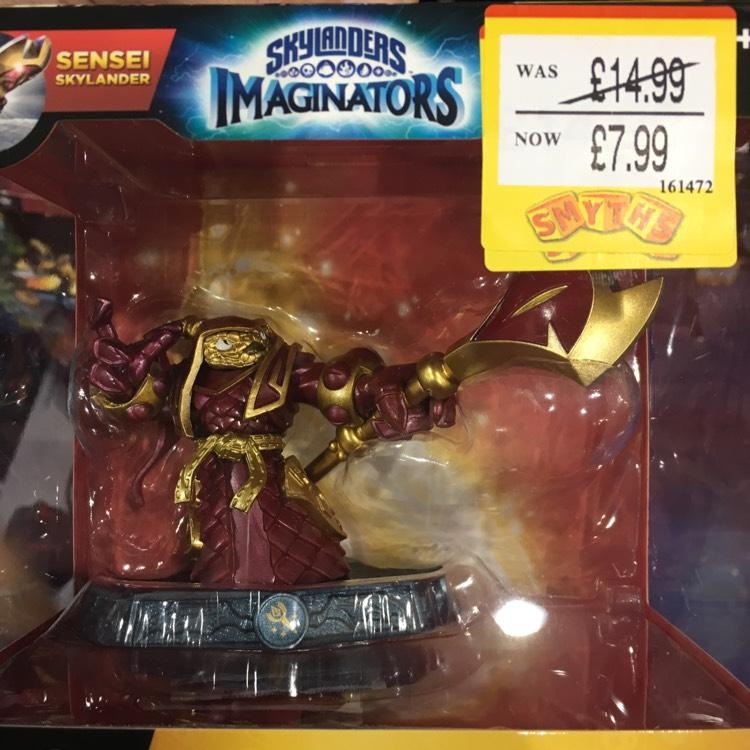 Skylanders Imaginators Sale £7.99 at Smyths