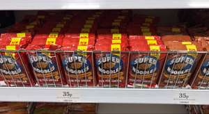 Bachelors Super Noodles 35p in Home Bargains - either Sizzling Steak Fajita or Zingy Peri Peri Chicken .. both new flavours