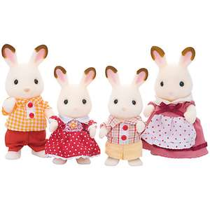 Sylvanian Families - Chocolate Rabbit Family was £19.99 now £11.00 George @ Asda