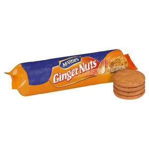 McVitie's Ginger Nuts  250g 50p Reduced from £1.11 @ Morrisons