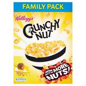 Kellogg's Crunchy Nut corn flakes Family Pack 750g £1.84 Half Price were £3.69 @ Waitrose