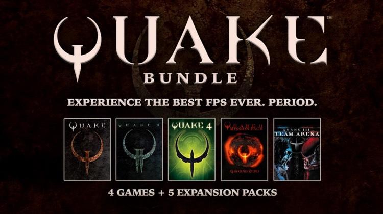 Quake Bundle - Bundlestars- £7.75 (Quake - Quake 4 + DLC)