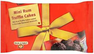 Dancake Mini Rum Truffle Cakes (140g) 75p for one or 2 for £1.00 @ Morrisons