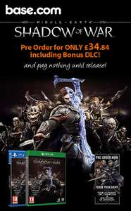 Middle-Earth: Shadow of War - including 'Forge Your Army' DLC (Xbox One) - £34.84 @ Base