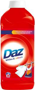 Daz Regular Washing Liquid (20 Washes = 1L) was £4.00 now £2.00 @ Morrisons