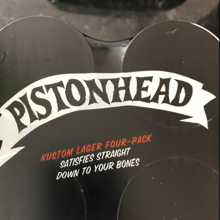 Pistonhead Kustom Lager Four Pack £3.49 @ B&M