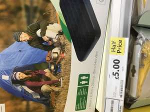 Tesco in store Double airbed - £5 (Cosham)