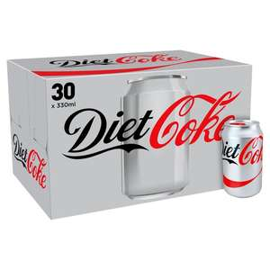 30 cans of Coke/Diet Coke/Coke Zero instore at Costco - £7.18 (inc VAT) - 24p a can!