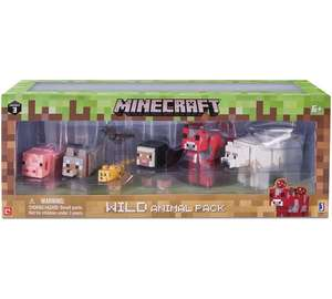Minecraft Wild Animal Pack Instore at Asda Wigan reduced to £5.00