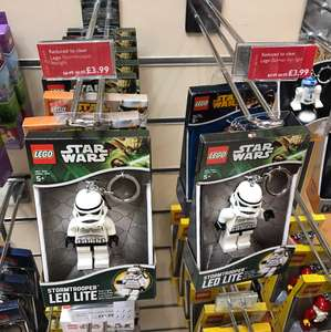 Lego Star Wars storm trooper LED key rings £3.99 in store @ John lewis was £6.99