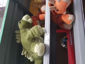 Asda dinorrific plush large, very soft dinosaur now £5 in-store