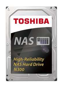 Toshiba N300 4TB High-Reliability NAS Hard Drive £91.65 including delivery from Ebuyer