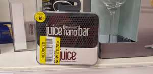 Juice nano bar bluetooth speaker £8.75 - Tesco Lundsford Park