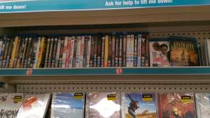 Blu rays £1 in poundland Hounslow
