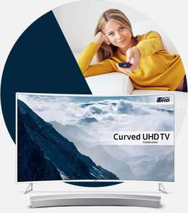 AO - 10% off code for selected Samsung Curved TV's and soundbars