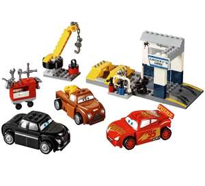 LEGO £15.99 Juniors Cars Smokeys Garage Amazon/Argos