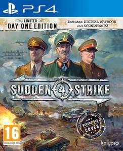 Sudden Strike 4 Limited Day One Edition £27.85 @ Shopto