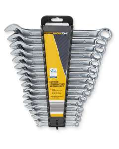 Forged Chrome Vanadium Steel set of Spanners/Wrenches - £7.49 delivered @ ALDI