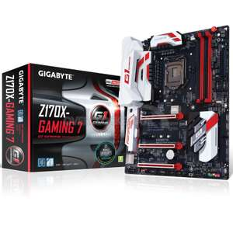 GA-Z170X-Gaming 7 Intel Z170 (Socket 1151) DDR4 ATX Motherboard £119.99 @ Overclockers