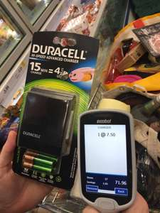 Duracell 15 min charger tesco £7.50 reduced from £30 instore