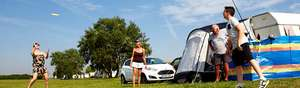 Camping and Caravanning from £1 per night in September @ Park Holidays