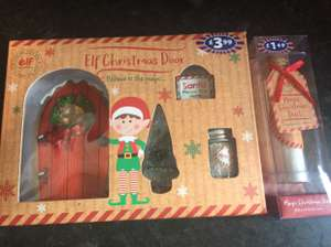 Similar to Elf on shelf Christmas door and accessories b&m Penrith £3.99