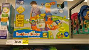 Toot-toot Drivers Construction Site Half Price £20 @ Tesco instore Purley