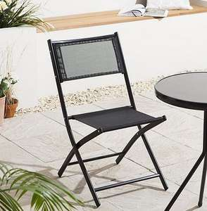 Mesh Folding Garden Chair 6 for £40 using code (£6.66 each) @ Tesco Direct