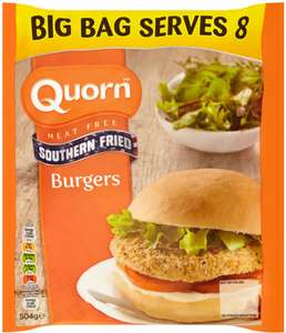 Quorn Southern Fried Burgers (8 = 504g) was £3.00 now £2.00 @ Ocado