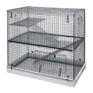 Lazy Bones 3 Tier Rodent Cage £44.99 spend £50 for free delivery at cagesworld