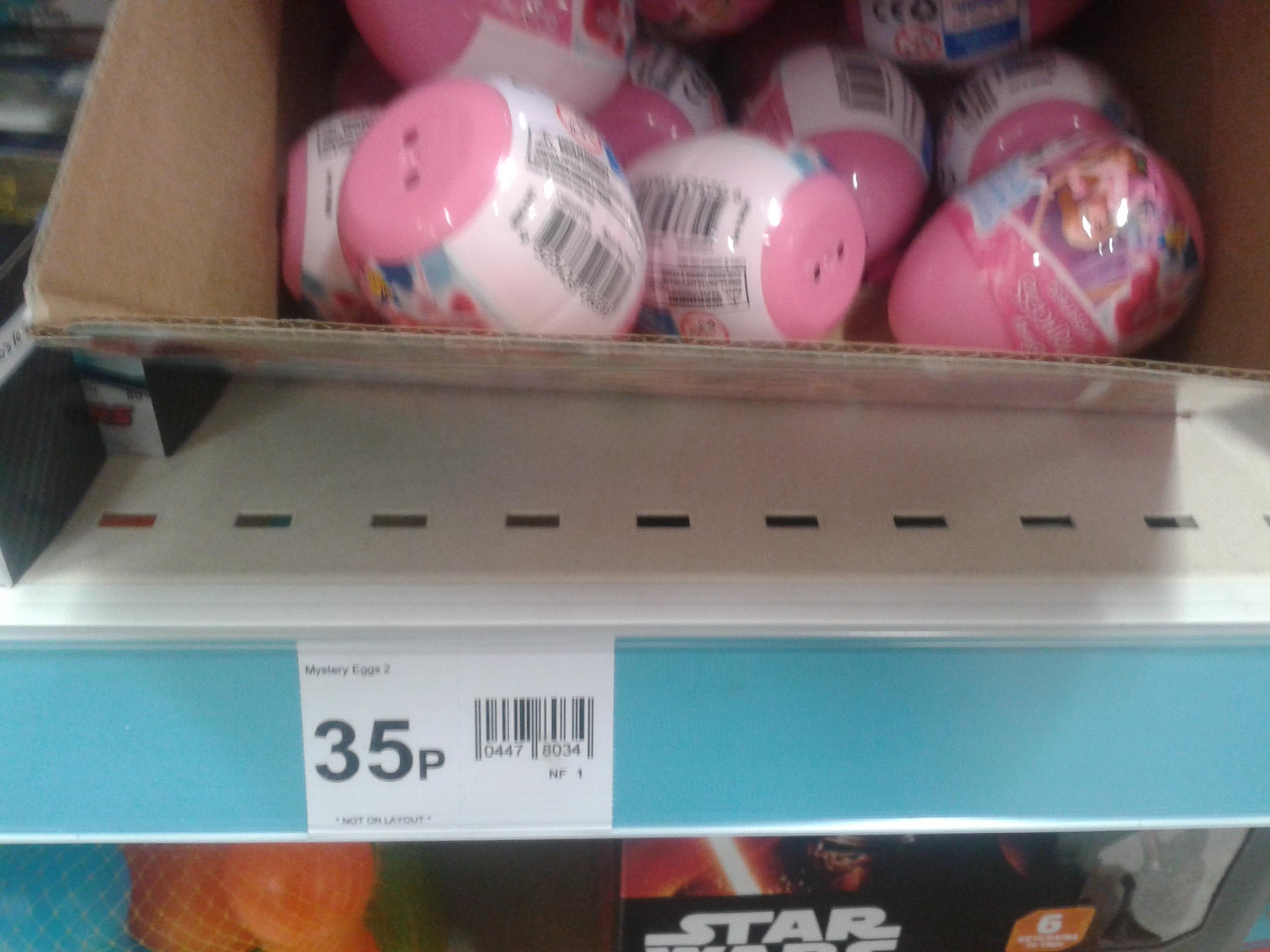 Disney Princess Mystery Eggs 35p @ Wilko Instore