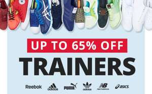 M & M direct upto 65% off branded trainers... Adidas Nike etc