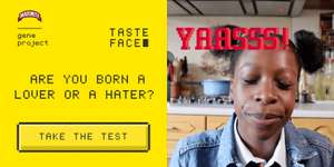Get a Free Marmite sample and take part in the Marmite The Gene Project Taste Face