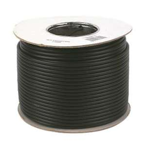 100m black coax @ Screwfix - £8.47