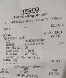 Redex Petrol/Diesel Injector - £2 @ Tesco Petrol Station