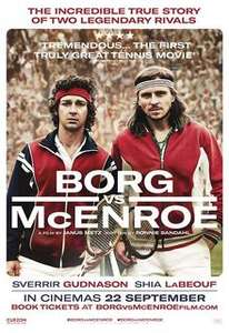 Showfilmfirst Borg v McEnroe free preview showing