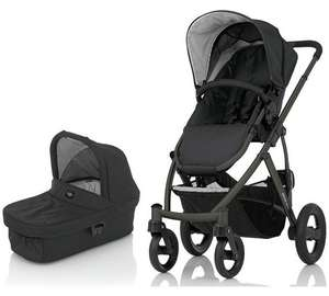 Britax Smile Pushchair & Carry Cot - Black £160.99 @ Argos