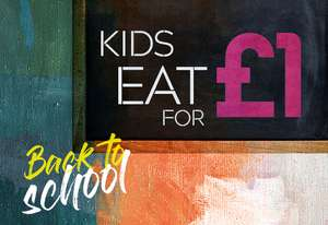 Prezzo - Kids eat for ONLY £1 with a paying adult