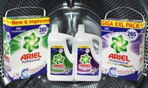 Ariel concentrate, liquid or powder, 530 washes on Groupon. £31.99 plus £1.99 p&p.