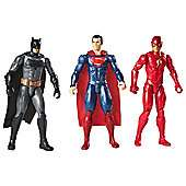 "Double Discount - Small Selection of Toys with 50% Off + EXTRA 50% Off with code @ Tesco Direct ie Justice League 12 Inch 3 Pack- Batman, Superman & The Flash was £40 now £10 / Guardians of the Galaxy 6 figures pack 12"" was £70 now £17.50"