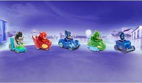 PJ Masks Mini Wheelie Vehicle Box Set was £40 now £25 / PJ Masks Deluxe 16 Piece Figure Set was £35 now £25 C+C @ Asda George