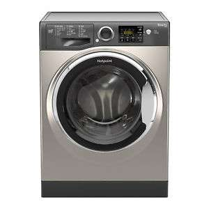 Hotpoint RSG845JGX Washing Machine 8 kg Wash Load 1400 RPM Spin Speed - Graphite ​ £324.99 ebay / hotpoint_store