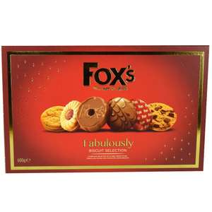 Fox's Fabulously Biscuit Selection  600g  £2.50 @ Morrisons