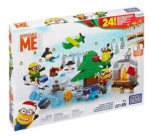 Mega Bloks Despicable Me Minions Advent Calendar £12.49 (Prime) £16.48 (Non Prime) @ Sold by JeanOlla and Fulfilled by Amazon