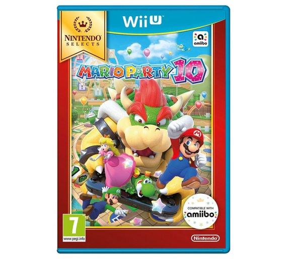 Mario Party 10 - Wii U - £14.99 @ Argos