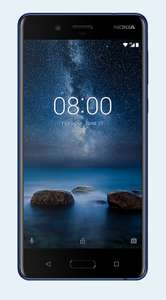 Nokia 8 - 24 Month Contract - £17.99/month on EE + £115 initial cost -  with 1GB data Total cost £546.76 @ Mobiles.co.uk