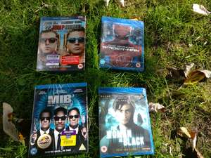 Various Blu-Rays £1 Each e.g 22 jump street - MIB3 and The woman in black @ Poundland