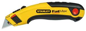 Stanley FatMax Retractable Utility Knife - Add on item at Amazon - £4.00 - and other Stanley deals