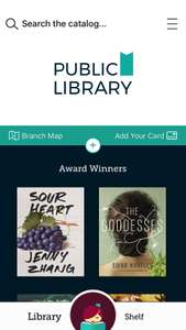 Borrow ebooks & audiobooks from your local library, Free
