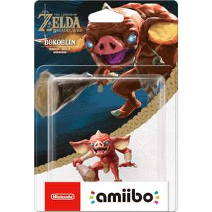 Bokoblin Amiibo back in stock in Nintendo store! £12.99 / £14.98 delivered